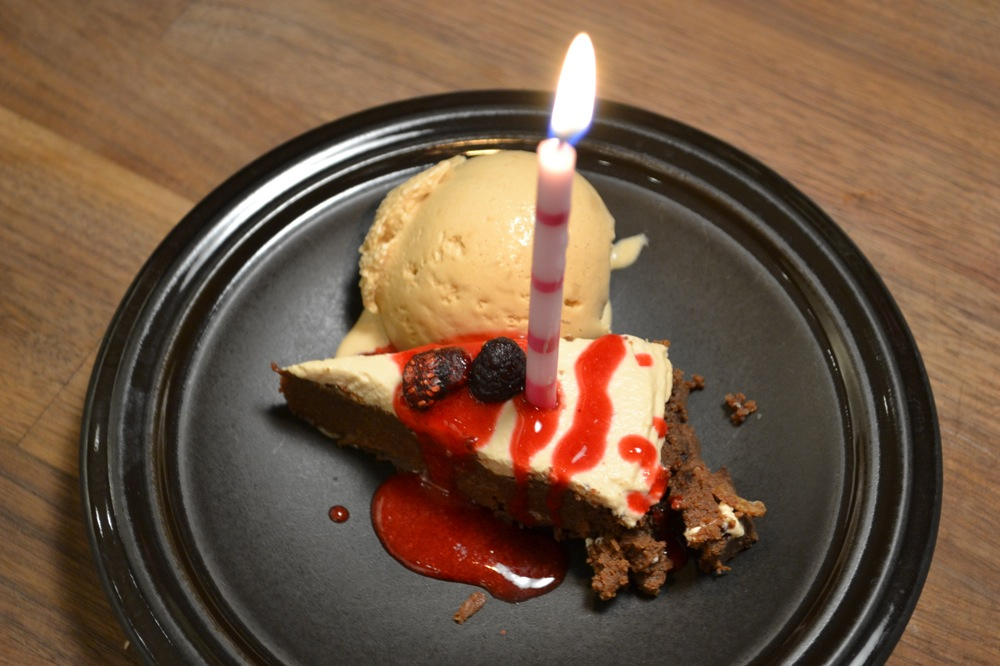 birthday cake & homemade starbucks coffee ice-cream | solarpoweredkate