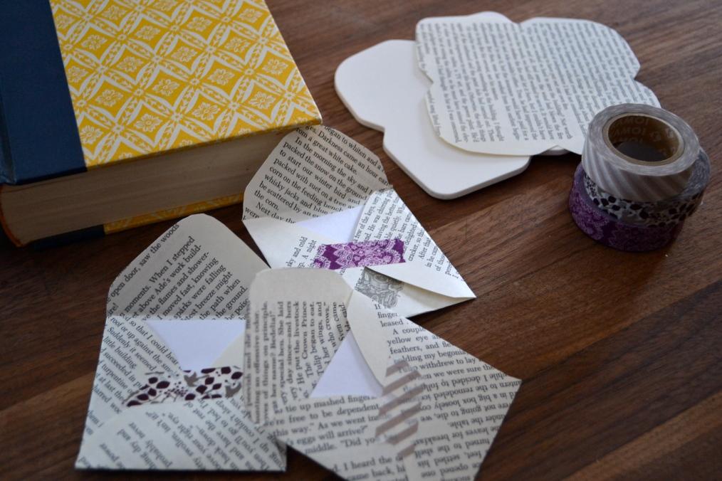 books, tape & envelopes