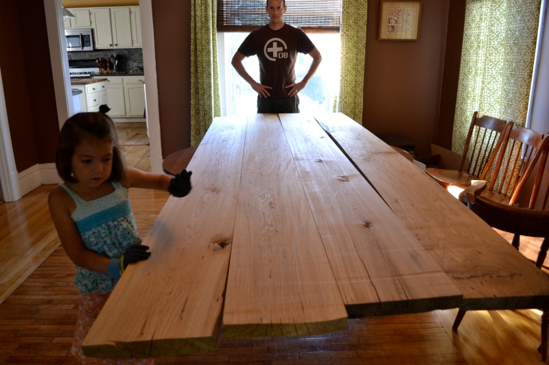 barnwood dining table plans
