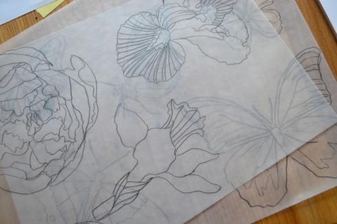 overlay flowers